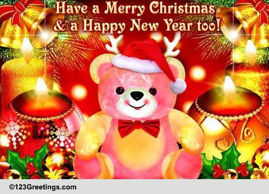 Merry Wishes And Family Christmas Friends