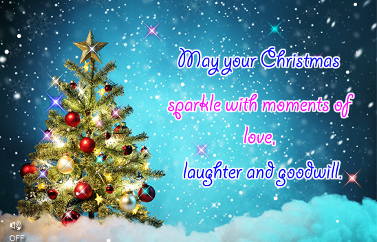 Warm Wishes From Me To You Free Merry Christmas Wishes