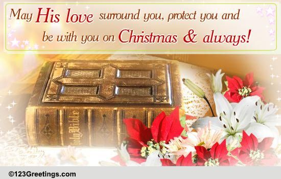 On Christmas And Always Free Religious Blessings ECards 123 Greetings