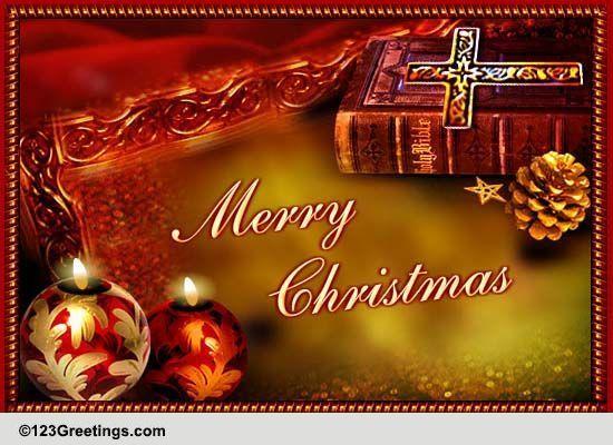 Religious Blessings On Christmas Free Religious Blessings ECards 123 Greetings