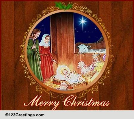 Christmas Blessings And Wishes Free Religious Blessings