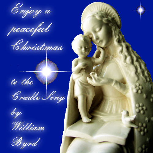 Peaceful Christmas Free Nativity Scene ECards Greeting