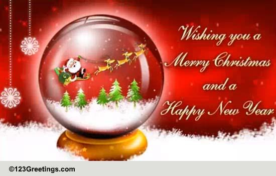 Christmas Around The World English Cards Free Christmas