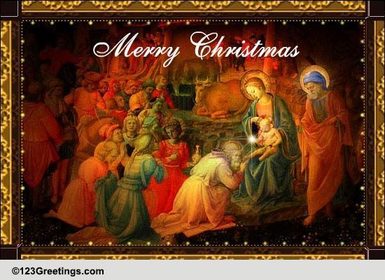 Special Christmas Free Orthodox ECards Greeting Cards