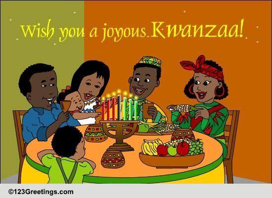 Wish You A Joyous Kwanzaa Free Kwanzaa ECards Greeting