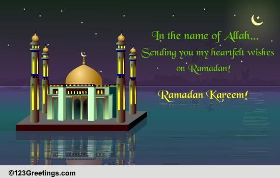 Ramadan Kareem! Free Ramadan Mubarak ECards Greeting