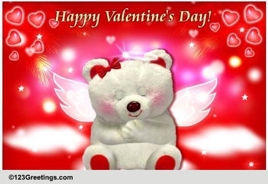 Valentines Day Angel Amp Cupid Cards Free Valentines Day