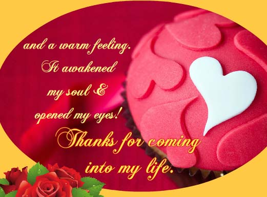 Thank You For Being In My Life Free Thank You ECards Greeting Cards 123 Greetings