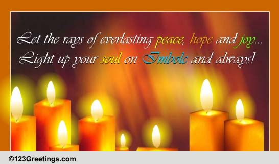 Everlasting Peace Free Imbolc ECards Greeting Cards