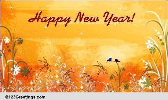 Warm New Year Social Greetings Free Social Greetings ECards 123 Greetings