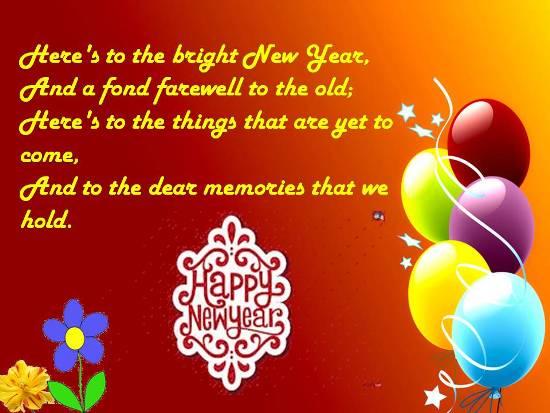 heartfelt new year greetings