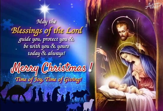 Christmas Blessings Of The Lord Free Orthodox Christmas