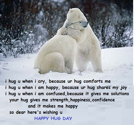 Your Hug Is My Strength Free Love Hugs ECards Greeting