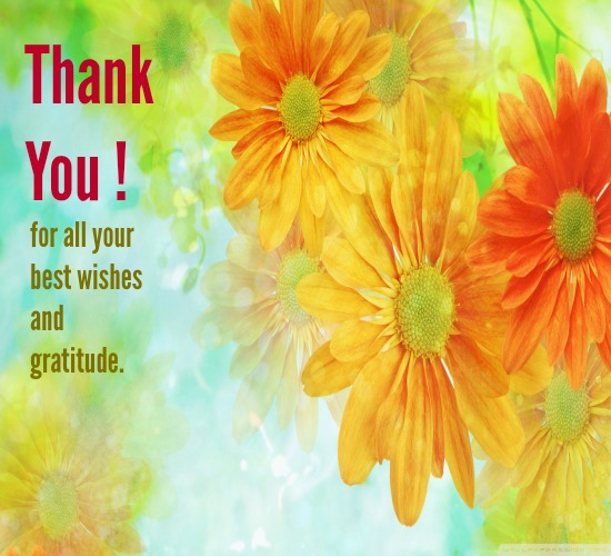 Heartiest Thanks For All Your Wishes Free Thank You