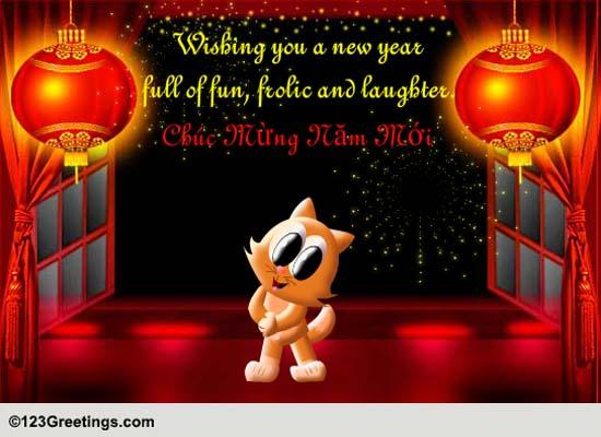 Chuc Mung Nam Moi Free Vietnamese New Year ECards