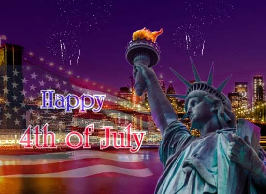 Happy 4th Of July Wishes With Quotes Free Happy Fourth Of July ECards 123 Greetings