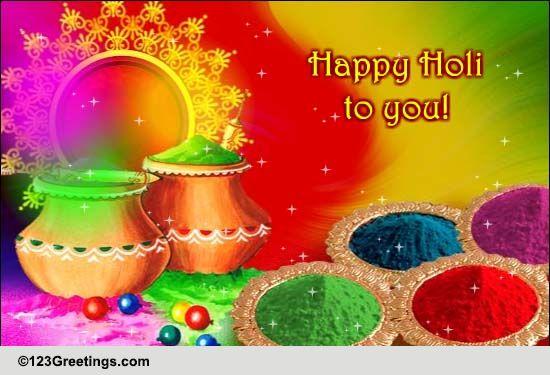 Happy Holi Cards Free Happy Holi Wishes Greeting Cards