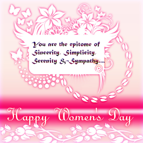 To The Woman In My Life Free Happy Womens Day ECards Greeting Cards 123 Greetings
