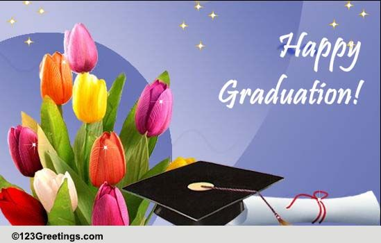 Heartwarming Wishes On Graduation Free Happy Graduation ECards 123 Greetings
