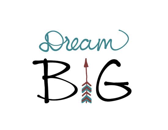 Dream Big (Graduation). Free Encouragement & Inspiration