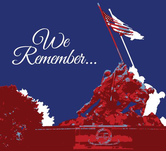 Memorial Day Tribute Card Free Tributes ECards Greeting