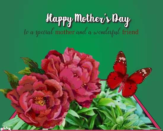 Wonderful Mother And Great Friend Free Friends ECards