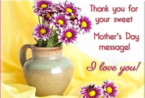 Mother's Day Thank You Butterfly Free Thank You ECards