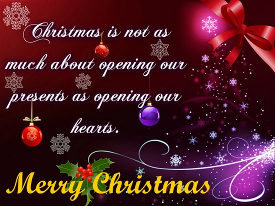 Open Your Heart Free Advent ECards Greeting Cards 123