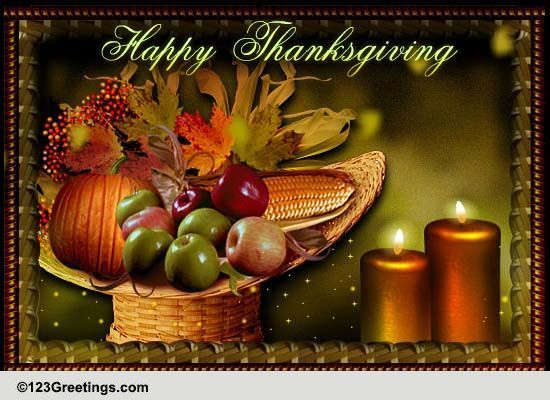 Family Thanksgiving Greetings Free Family ECards Greeting Cards 123 Greetings