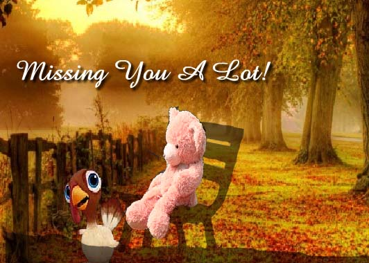 Missing You A Lot! Free Miss You ECards Greeting Cards