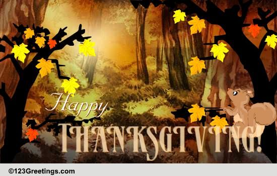 Thanksgiving Is Here Free Prayers ECards Greeting Cards 123 Greetings
