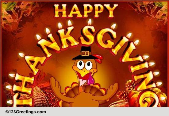 Thanksgiving Hugs Amp Wishes Free Happy Thanksgiving ECards 123 Greetings