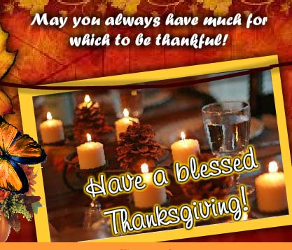 Have A Blessed Thanksgiving Free Happy Thanksgiving ECards 123 Greetings