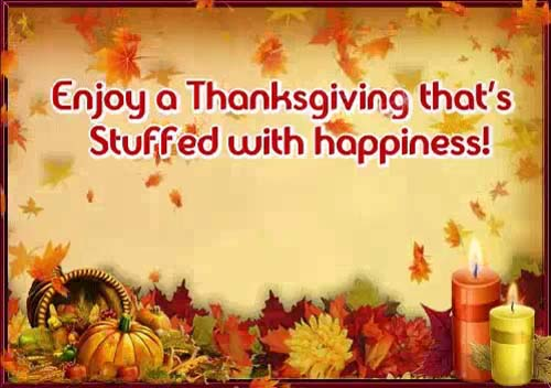 You Are Always Close In Heart Free Happy Thanksgiving ECards 123 Greetings