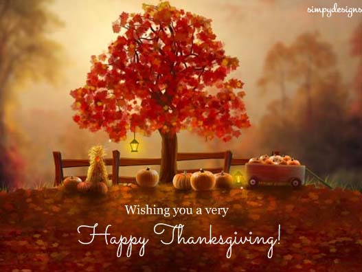 Warm Wishes On Thanksgiving Free Spirit Of Thanksgiving ECards 123 Greetings