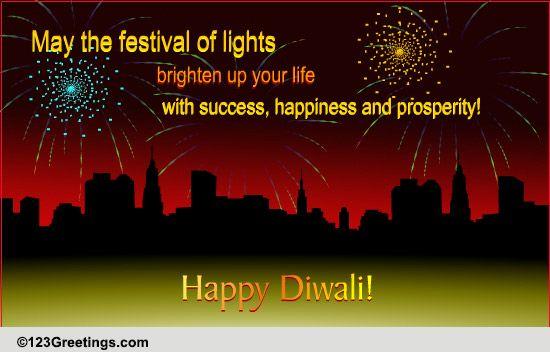 A Corporate Diwali Wish Free Business Greetings ECards Greeting Cards 123 Greetings