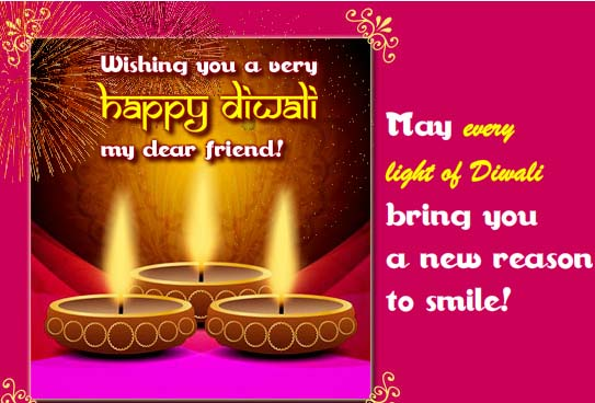 Diwali Wishes For A Dear Friend Free Friends ECards Greeting Cards 123 Greetings