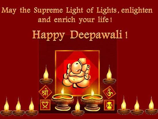 Blessings And Greetings On Deepawali Free Happy Diwali Wishes ECards 123 Greetings