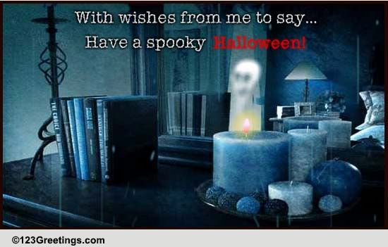 Paranormal Halloween Activity! Free Haunted House ECards