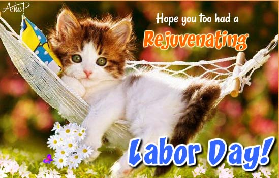 Cute Labor Day Thanks Free Thank You eCards Greeting