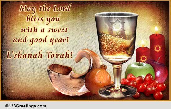 Rosh Hashanah Religious Blessings Free Religious Blessings ECards 123 Greetings