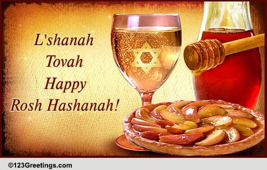 On Rosh Hashanah Free Wishes Ecards Greeting Cards