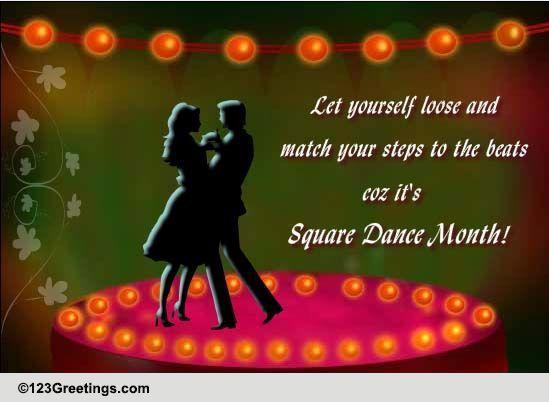 International Square Dance Month Free Intl Square Dance