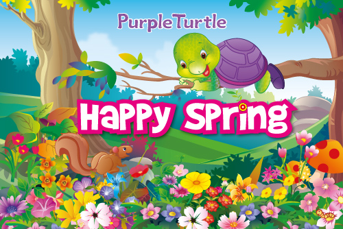 Happy Spring! Free Floral Wishes ECards Greeting Cards