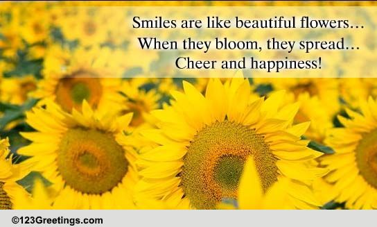 Beautiful Flowers! Free Cheer Up ECards Greeting Cards