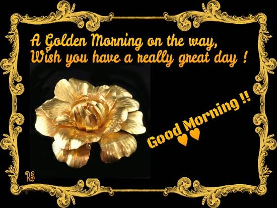A Lovely Good Morning Wish For You Free Good Morning
