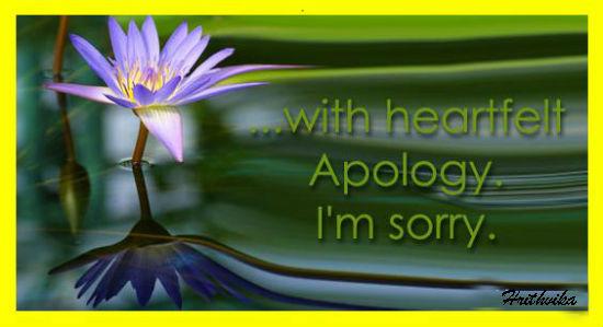 Heartfelt Apologies Free Sorry ECards Greeting Cards