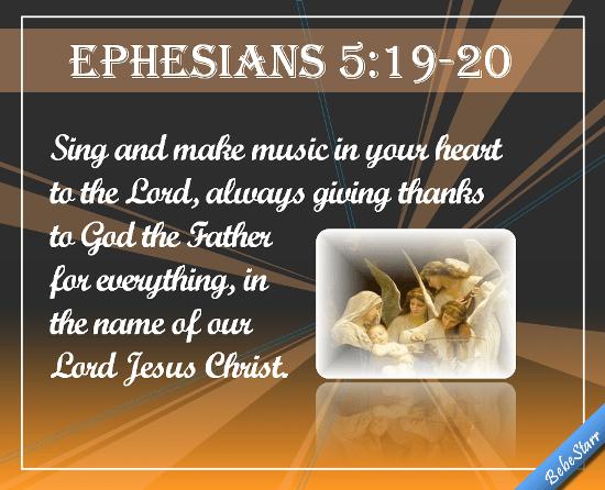 Ephesians 51920 Free Quotes  Poetry eCards Greeting
