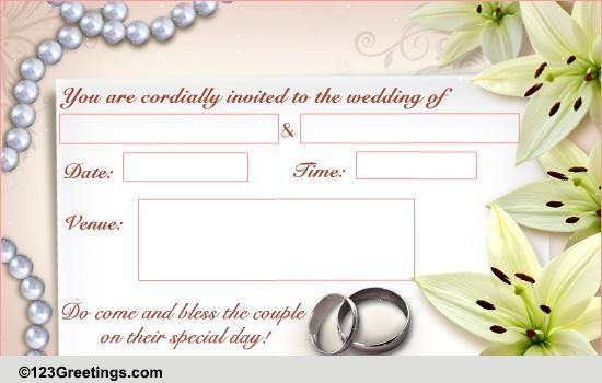 Wedding Invitations Twelfth