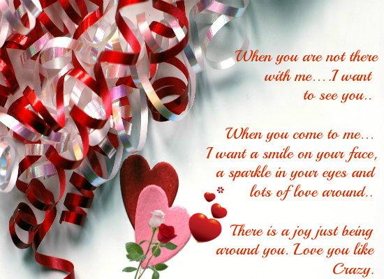Valentine Note Girlfriend